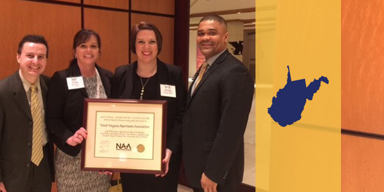 WVAA Receives Affiliate Charter from National Apartment Association